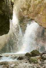 Waterfall of Saint Taxiarhis - Ano Vlasia